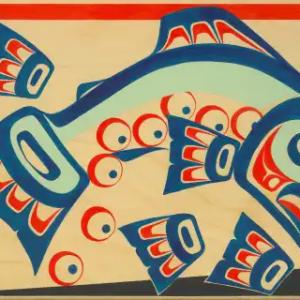 Postcards Salmon Spawn Bundle (12)